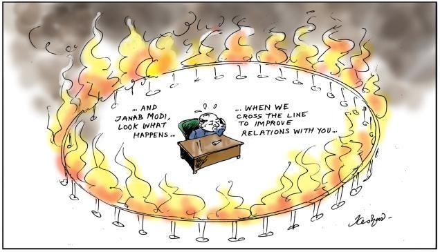Pakistan on fire