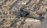 US helicopter over Bagdad