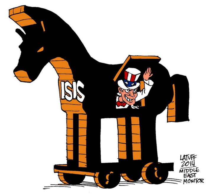 ISIS the trojan horse for the U.S.