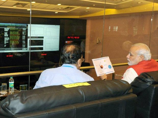 PM Modi at ISTRAC