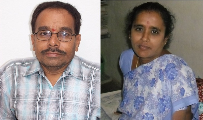 VTE founder Y Umamaheswara Rao and his wife Seshamani