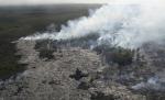 04 Kilauea lava burning forest