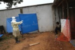 10 Ebola patient being interviewd
