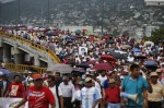 12 Protesters march in Acapulco city -Oct 17