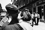 13 Czech woman greets Russian soldiers in Prague -May 5, 1945
