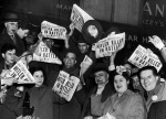 14 Hitler's death celebrated in New York -May 1, 1945