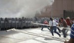 16 Teachers clash with riot police in Chilpancingo -Oct 14