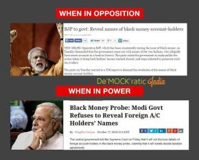 BJP hypocracy