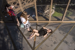 Eifel Tower with new glass floor 15