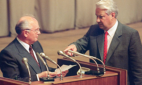 The duo that lead Soviet disintegration -Gorbachev and Yeltsin