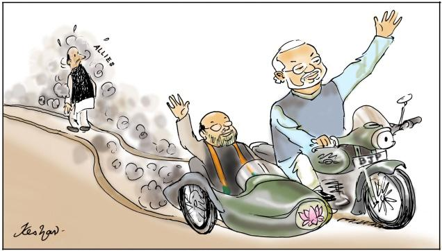 Modi in no need of allies