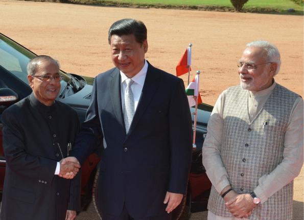 Xi Jinping in India