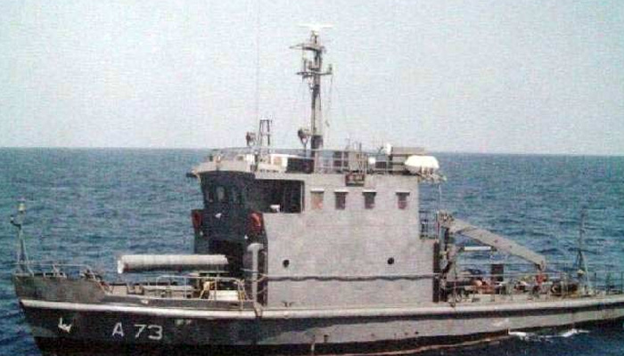 Ship sinks