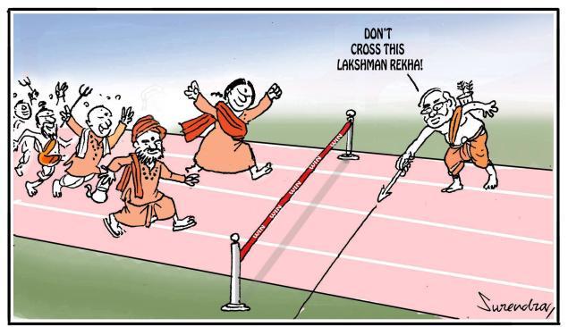 Modi's Lakshman Rekha