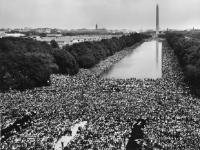 01 Gathering at 'I have a dream' speech