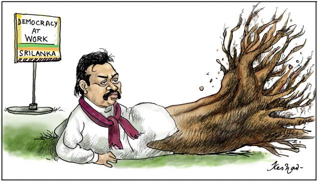 Rajapakse dethroned