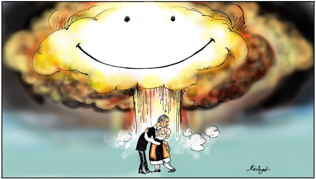 Nuclear hug