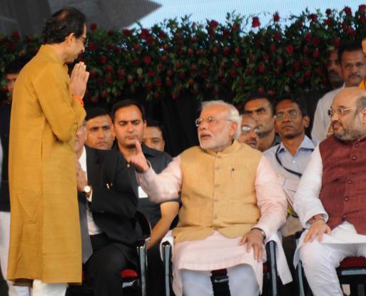 Uddhav and Modi