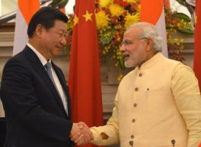 Xi Zinping in India