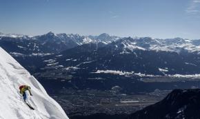 01 Skiing on Seegrube mountain -Austria