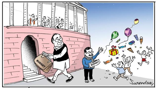 Delhi attack on Budget 2015-16