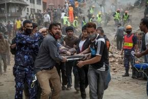 01 Dharara tower collapse victim in Khatmandu