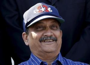 Defense Minister Manohar Parrikar