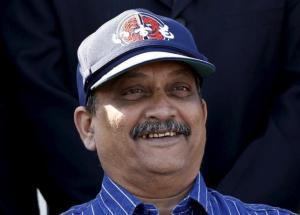 Defense Minister Manohar Parrikar