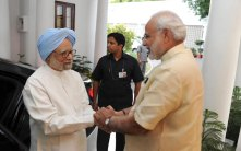 Ex PM meets PM