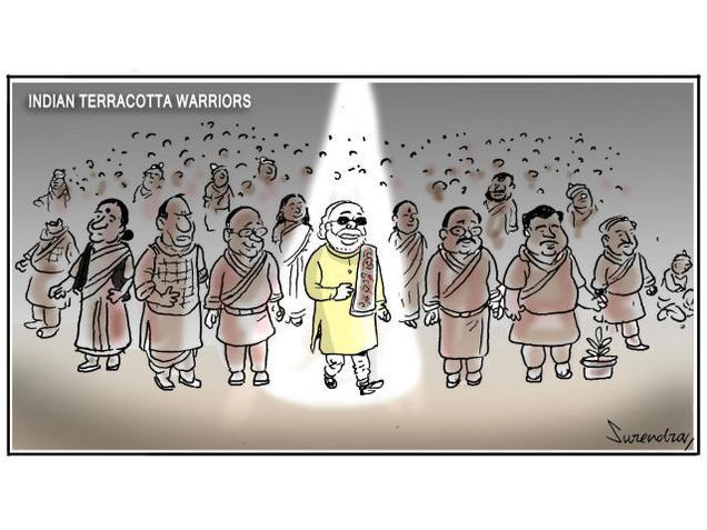 Indian terrakotta warrors