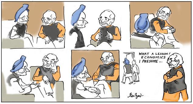 Manmohan meets PM