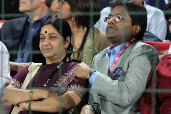 Sushma & Lalith Modi