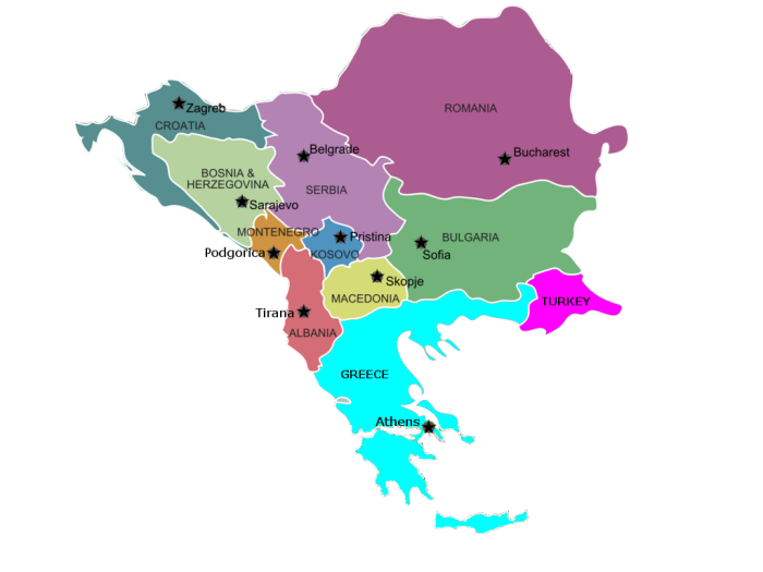 Balkan peninsula -Now