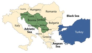Balkan peninsula before 1991