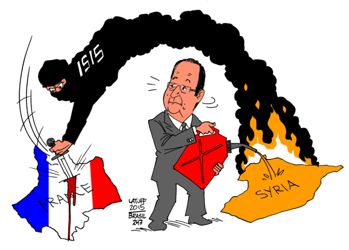 ISIS attacks France!