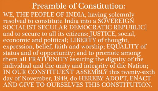 Secularism in constitution