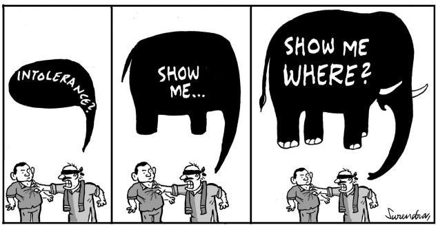 Show me intolerance!