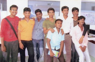 03 Rohit's BSc days in Guntur