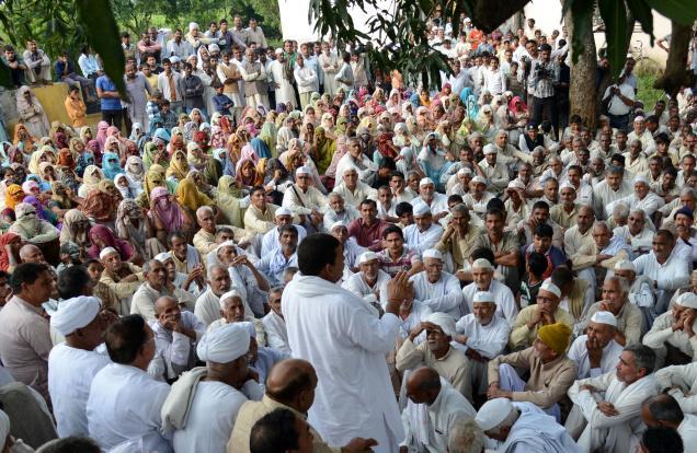 A Jat Panchayat in U.P.