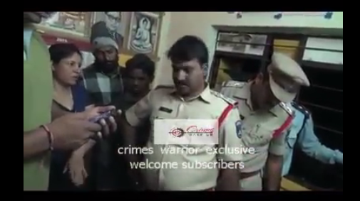 Dr Rajashri and Police in Rohith room