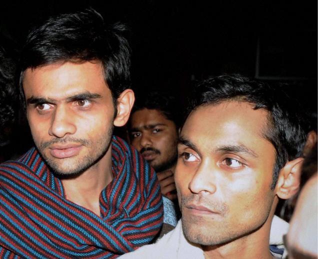 Umar Khalid & Anirban Bhattacharya