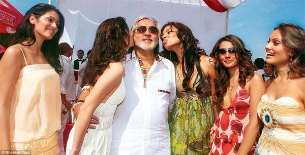 Flamboyant Vijay Mallya