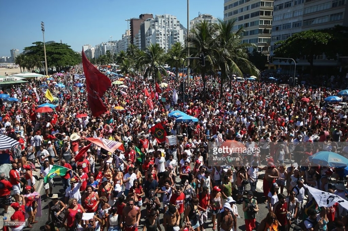 Anti-impeachment protests in Rio