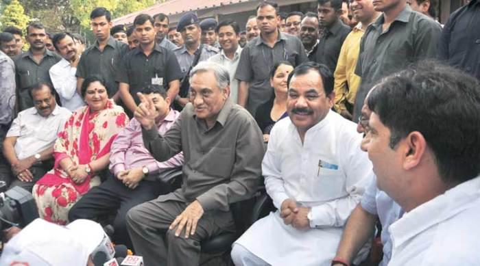 Coup leader, Ex CM (Congress) -Vijay Bahuguna