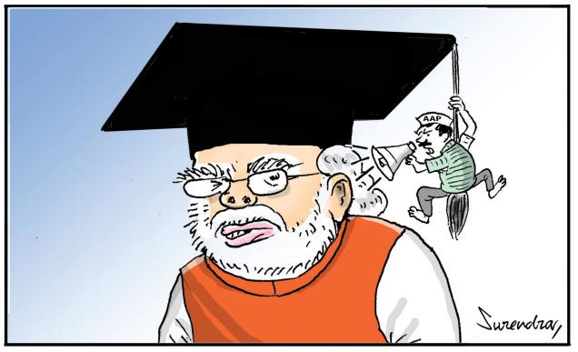 Modi Degree & Kejriwal