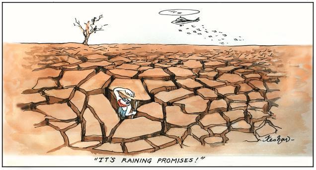 Raining promises