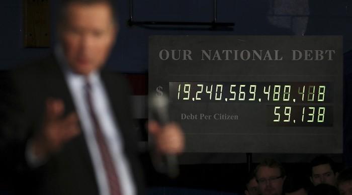 The U.S. debt
