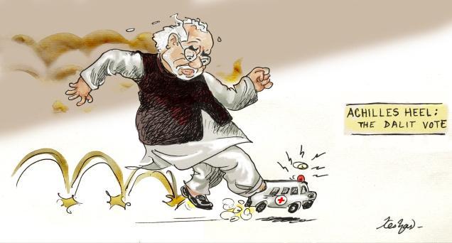 Modi's heel