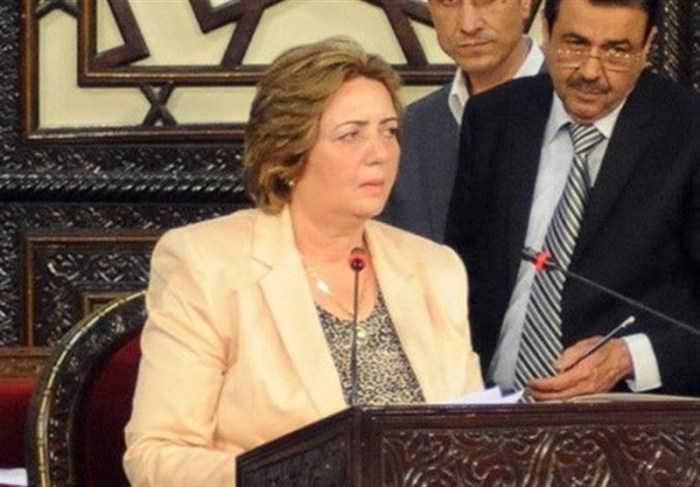 Hadiya Khalaf Abbas -Syria Parliament Speaker