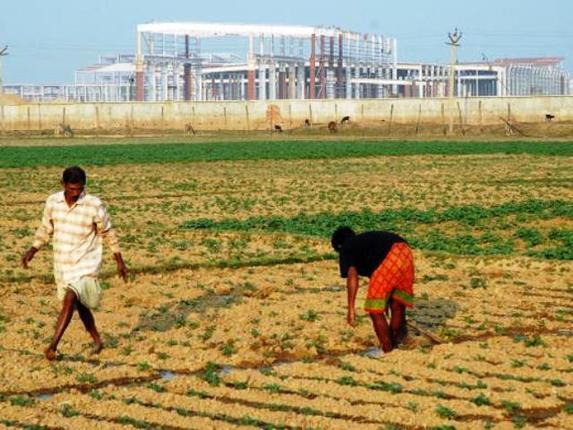Singur land and abandoned Tata factory